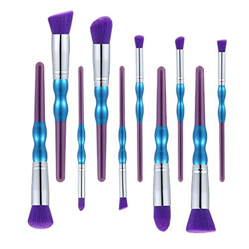 Bluestercool Set de Pinceau de Maquillage Femmes Fashion Professionnel Makeup Brush Cosmétique Brosse Beauté Accessoires de Maquillage et Outils
