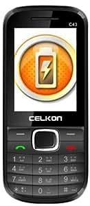 Celkon C43 (Black-Red)