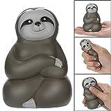 YUYOUG Newest Jumbo Cartoon Sloth Toy , 11 cm Squishies Kawaii Cartoon Sloth Slow Rising Fruit Scented Stress Reliever Soft Squishys Christmas Birthday Gift Bild 1