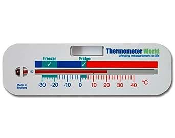 Freezer/Fridge Thermometer - Refrigerator Chiller Cooler