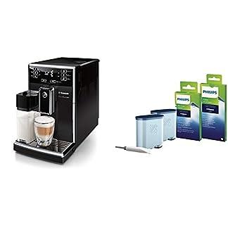 Saeco-PicoBaristo-HD892501-Kaffeevollautomat-220-W-integriertes-Milchsystem-schwarz-Zertifiziert-und-Generalberholt