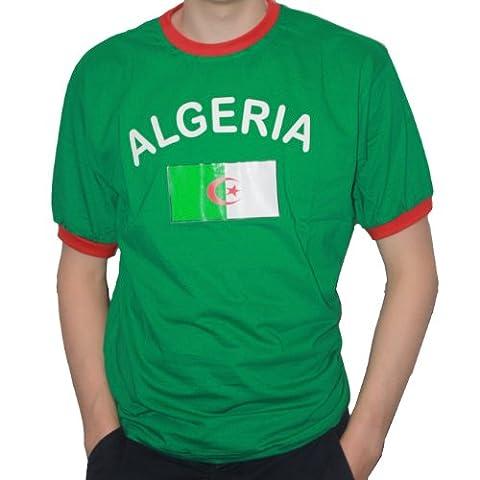 BRUBAKER T-shirt Algérie - Collection Supporter - Vert -
