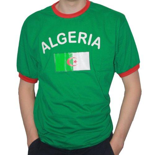 5 x Algerien Tattoo Fan Fahnen Set Algeria temporary tattoo Flag 5