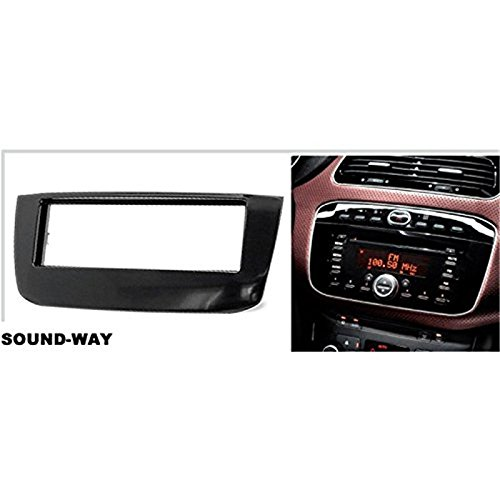 kit montaggio autoradio per fiat grande punto evo con mascherina adattatore antenna e chiavi. Black Bedroom Furniture Sets. Home Design Ideas