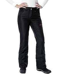 Arctix pantalones de nieve para mujer, pantalones, mujer, color Negro - negro, tamaño L
