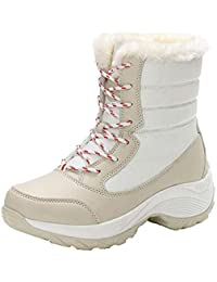 it Scarpe Donna Camoscio Amazon Beige Stivali Da ACnqFawd