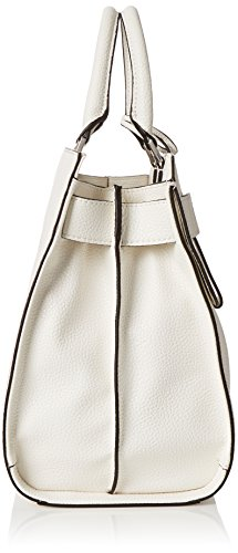 Guess Damen Bags Hobo Shopper, 20x29x38 centimeters Weiß (White)