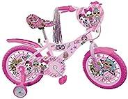 """LOL BICYCLE 12"""" FUCHSIA &"""