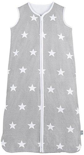 Jollein 049-529-64966 Schlafsack Sommer 110 cm, jersey Little star grau