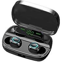 Rayfit Mini Auriculares Bluetooth 5.0 Inalámbricos TWS Estéreo In Ear Auriculares Deportivos Micrófono Manos Libres con Caja de Carga Portátil Bluetooth Cascos para iPhone Samsung Huawei Android iOS