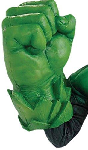 erdbeerloft - Karneval Kostüm Accessoire Grüne Faust Green Lantern, (Kostüme Erwachsene Unglaubliche Hulk)