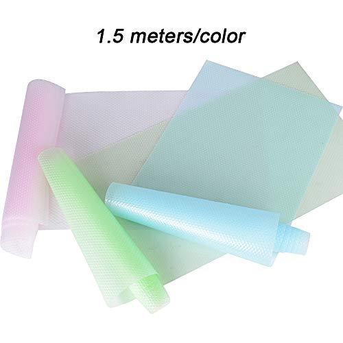3 Rollos Alfombrilla Refrigerador Antideslizante Alfombrilla
