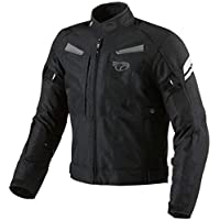 JET Motorcycle Motorbike Protective Jacket Textile Armoured Multi Functional Black