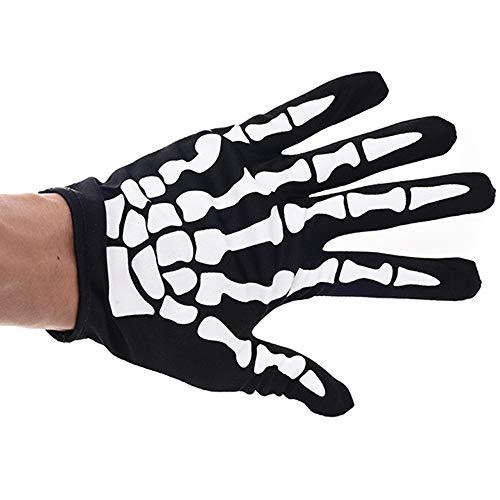 KDGB Halloween Kostüm Kostüm Ball, Zombie Handschuhe Angst Terror Skelett (3), A4