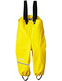 CareTec Pantalones Impermeable Unisex Niños, amarillo (Yellow 324), 104