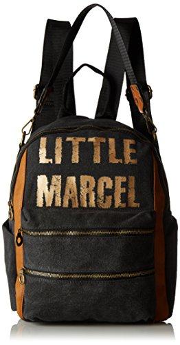 Little Marcel - Vi02, Borse a zainetto Donna Nero (Black)