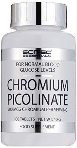 Scitec Nutrition Chromium Picolinate, 100 Kapseln, 1er Pack (1 x 40 g) (Tabletten Chrom)