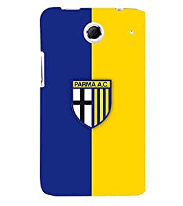 TOUCHNER (TN) Blue Yellow Logo Back Case Cover for Lenovo S880