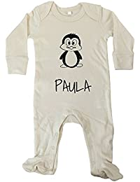 JOllipets Baby Strampler Langarm - PAULA - 100% BIO - Variante: Tiere Zoo