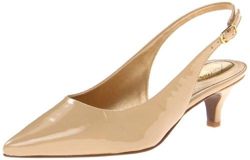 Trotters Damen Prima, Hautfarben - Nude Patent 7 M EU Patent Slingback High Heel