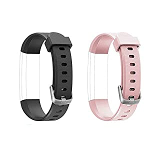 Lintelek Replacement Straps for Fitness Tracker ID115U and ID115UHR