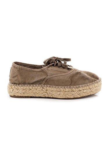 Pantofola beige Tessuto Natural World 687-E 37 Beige