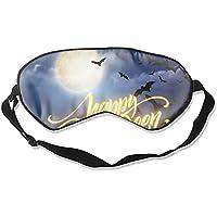 Komfortable Schlafmasken für Halloween, leuchtende Nacht, Schlafmaske für Reisen, Mittagsschlaf oder Mediation... preisvergleich bei billige-tabletten.eu
