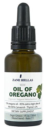 SUPER 15. HUILE D'ORIGAN. 1 oz-30ml. MÉLANGE pré-dilués. Prêt à l'emploi. Pur grec huile sauvage de l'huile d'origan. 15% huile d'origan - 85% huile d'olive vierge