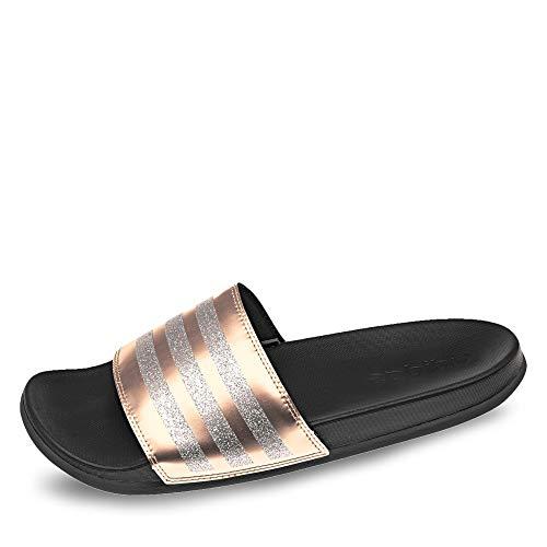 adidas Damen Adilette Comfort Dusch- & Badeschuhe , Mehrfarbig (Grmeva/Grmeva/Negbás 000) , 44 1/2 EU 44