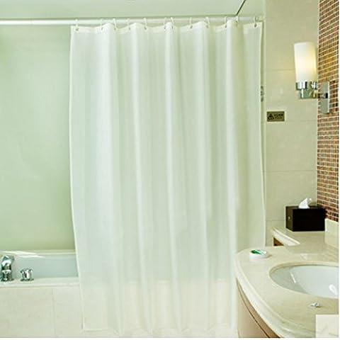 GYMNLJY tenda della doccia in poliestere impermeabile beige Spesso Bagno Tende Bagno Doccia cortina di tagliare Hanging tenda ,