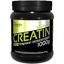 Creapure KREATIN PULVER 1000g | Deutsche Qualität | VEGAN | Für den Kraftsport als Muskelaufbau Pulver | BIOMENTA Creatin Monohydrat/Kreatin Monohydrat