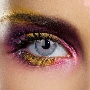 20114 SOLAR GREY gefärbte Kontaktlinse Crazy Kontaktlinsen, Farbspaß, Top-Qualität.