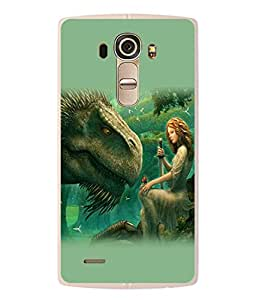 PrintVisa Animated Graphics High Gloss Designer Back Case Cover for LG G4 :: LG G4 Dual LTE :: LG G4 H818P H818N :: LG G4 H815 H815TR H815T H815P H812 H810 H811 LS991 VS986 US991