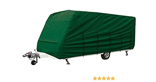 BAILEY PAGEANT SERIES 5 Moselle 4 2004 HEAVY DUTY CARAVAN COVER GREEN 4PLY