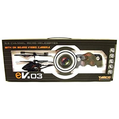 EVO3 Micro Helicopter with Spy Camera and SD card