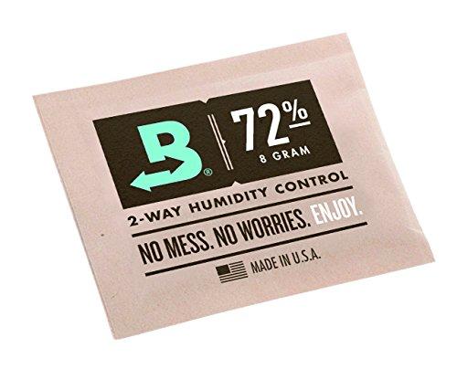 Boveda 8 Gram 72% Humidity Humidipack 2 Way Control for Cigar humidors (5X 8 Gram Packet)