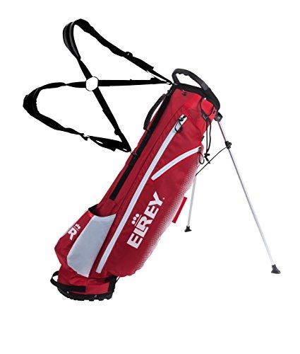 Elrey Golf 7 Inch Lite Stand Bag Multi Colour (RED/White)