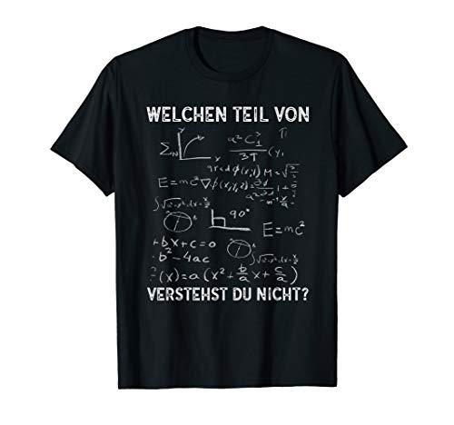 Lustiges Mathe Lehrer Mathelehrer Mathematiker Geschenk T-Shirt