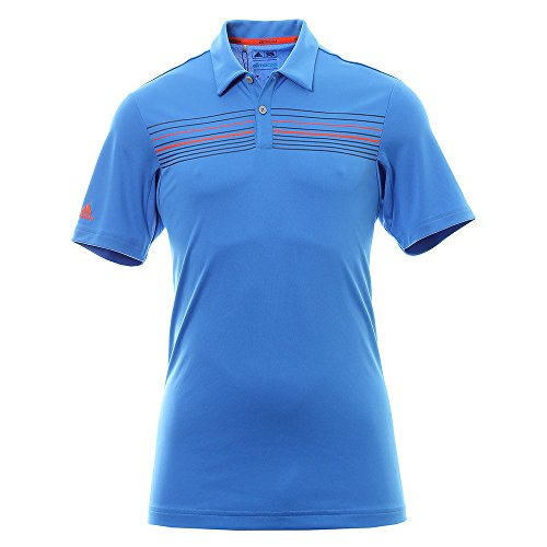 Adidas ClimaCool Chest Print T-Shirt Golf, Poloshirt XL blau (Golf Climacool Polo)