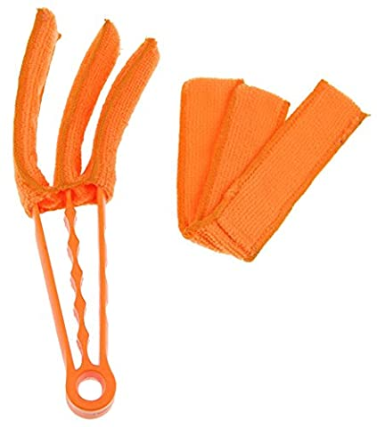 Handy 3-Blade Air Conditioning Cleaner Brosse d'obturateur Stores vénitiens Brosse Brosse Clavier