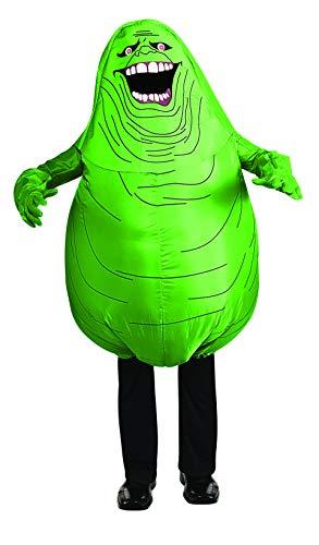 Rubie's, Costume gonfiabile Ghostbusters Slimer, prodotto ufficiale, taglia unica per adulti