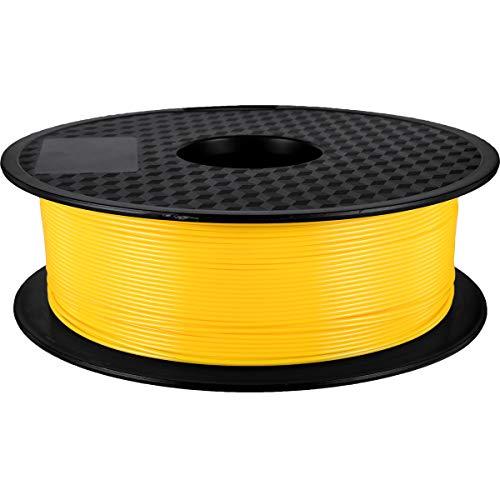 filamento de impresora 3D PLA 1kg Carrete GEEETECH Filamento PLA 1.75mm Nuevo Amarillo