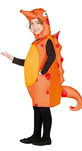 für Kinder Gr. 98-134, Größe:98/104 (Seepferdchen Kostüm Kostüm)