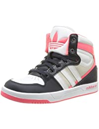 best authentic 75387 6fb02 Adidas Originals Court Attitude K-8 - Zapatillas de tela infantil
