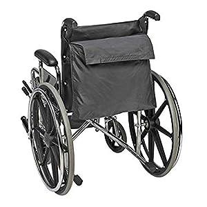 Walker Tasche für Gehhilfe, Rollatoren oder Roller, universal, strapazierfähig, wasserdicht für ältere Menschen, Senioren, Behinderte