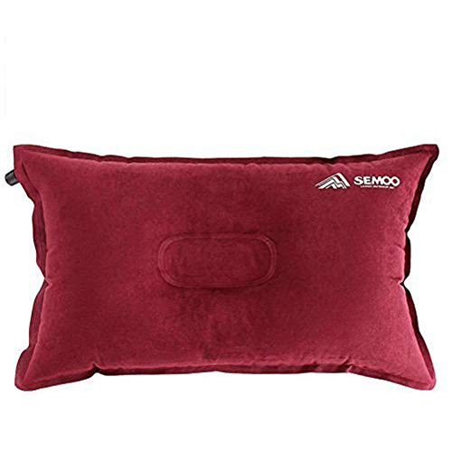 Semoo Camping Almohada/Linen de Aire Inflable autoinflable para Camping, Trekking y Viajes, comprimible...