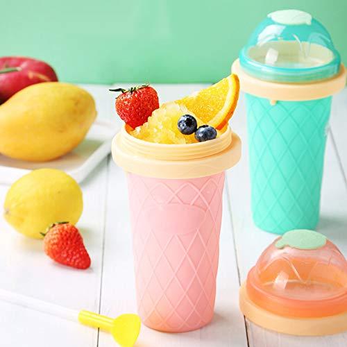 qEbGj70thjT Hausgemachte DIY Eismaschine Tasse Smoothie Becher Sommer Schnelle Kühlwasserflasche Kaffee