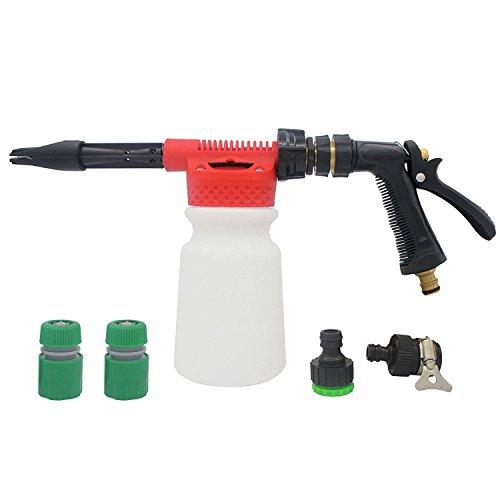 DaSinKo Waschen Gun Sprayer Schaumlanze, Snow Foam Lance, Auto Reinigung Schaumstoff Lanze 900 ml Für Auto-Garten-Reinigung