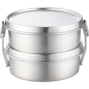 Aizawa Round lunch box two-stage (japan import)