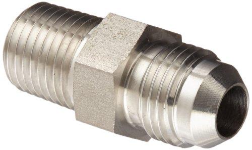 Eaton Weatherhead 5217 Edelstahl-Adapter SAE 37 Grad (JIC) Flare-Twin Fitting Adapter, 1/4